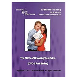 The ABC's of Operating Your Salon