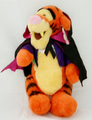 Disneys Tigger As Dracula Plush Toy front-92379