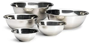 Prime Pacific Trading Stainless Mixing Bowl, Set of 5