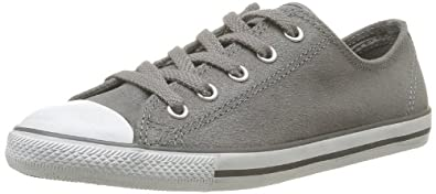 CONVERSE Unisex-Adult All Star Dainty Ox Lea Sue Trainers 308590-52-122 Anthracite 39 EU/5.5 UK