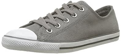 CONVERSE Unisex-Adult All Star Dainty Ox Lea Sue Trainers 308590-52-122 Anthracite 38 EU/5 UK