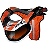 Leatt GPX Adventure 1/2/3 Neck Brace Padding and Sticker Kit - Orange