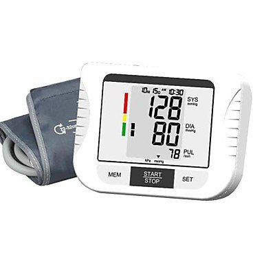Automatic Digital Arm Blood Pressure Monitor (0~299Mmhg, ¡À3Mmhg, 4Xaa Battery)