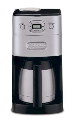 Cuisinart DGB-650BC Grind-and-Brew Thermal 10-Cup Automatic Coffeemaker, Brushed Metal (Thermal 4 Cup Coffee Maker compare prices)