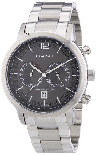 GANT W10943 - Orologio da polso uomo, acciaio inox, colore: argento