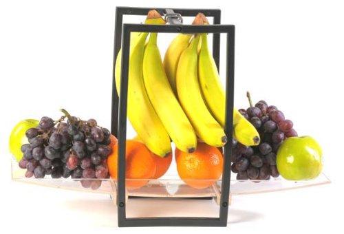 FRUIT BOWL WITH BANANA HANGER   FRUIT BOWL WITH BANANA HANGER