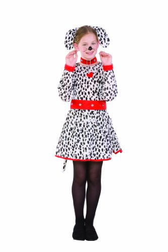 RG Costumes Dalmatian Costume, Child Large/Size 12-14 (Dalmatian Costume Ears And Tail)