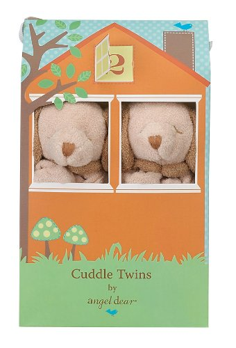 Angel Dear Cuddle Twin Set, Brown Puppy