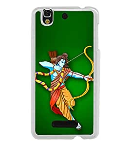 Bhagwan Ram 2D Hard Polycarbonate Designer Back Case Cover for YU Yureka :: YU Yureka AO5510
