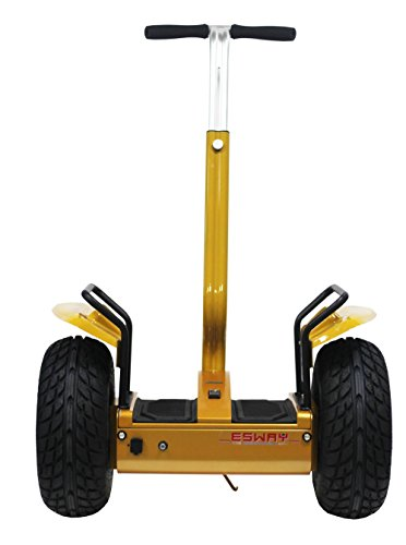 Chafon Es01 2014 New Cross-Country Type Personal Transporter-2 Wheels Self Balancing Electric Standing Up Scooter/Motorcycle/Ebike-Outdoor Sports Kids Adult Transporter With Led Light And Power Display Perfectly Suitable For Night Riding Amateur (Gold)