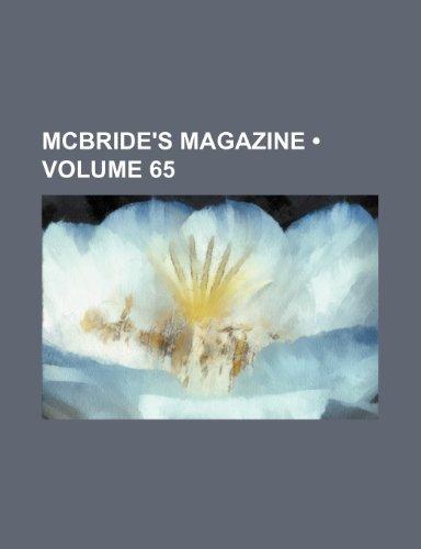 McBride's magazine (Volume 65)