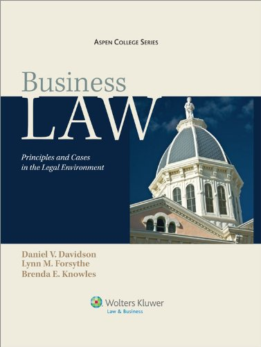 Business Law: Principles and Cases in the Legal...