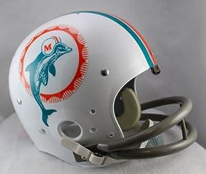 Riddell Miami Dolphins 1972 Full Size TK Suspension Helmet by Riddell