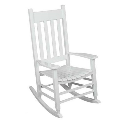 Outdoor rocking chair white the solid hardwood chairs - Rocking chair comfortable ...