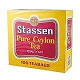 Stassen Pure Ceylon Tea / 100 Tea Bags / 200g / 7.1oz.