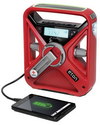 Eton Arcfrx3wxr Weather Radio, With Alarm Clock, Usb Smart Phone Charger & Flashlight - Quantity 10 Portable Radios from Eton