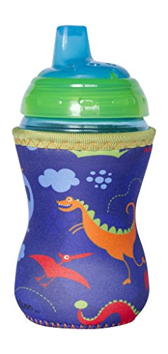 Kidzikoo - #1 Neoprene Baby Bottle/Sippy Cup Insulator Cooler Coozie - Dinosaurs - 1