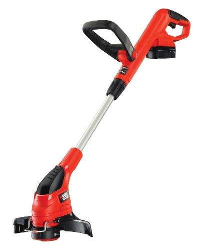 Black & Decker GLC1825N 18V Cordless Strimmer Ni-Cad Battery Gear Drive Trim and Edge Reflex Auto Line Feed