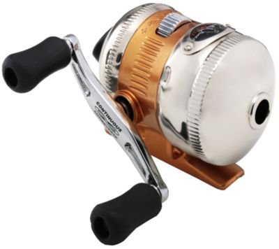 Zebco 11 bill dance crappie spincast reel push button for Push button fishing reel
