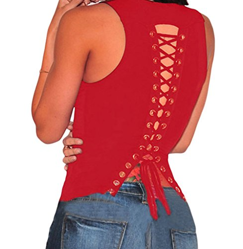 bling-bling-dress-womens-red-lace-up-back-sleeveless-top-l