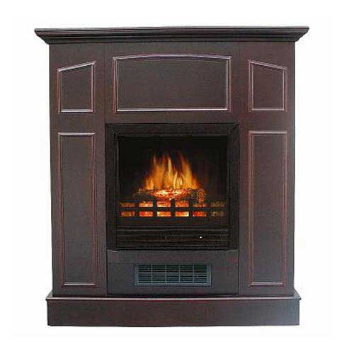 [Black Friday] Flametec QC998P-36CHY 750-Watt / 1500-Watt Electric Fireplace Heater, Cherry image B006W5N9FA.jpg
