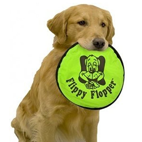"Hyper Pet 9"" Flippy Flopper Original Dog Toy, Assorted colors"