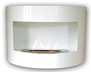 Design Kamin Gel Bio Ethanol Biokamin Riviera Deluxe Weiß   Kundenberichte und weitere Informationen