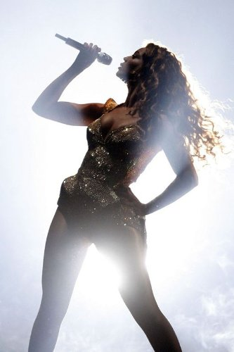 Beyonce Knowles Nice Silk Fabric Cloth Wall Poster Print (36x24inch)