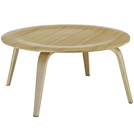 LexMod Molded Fathom Coffee Table in Natural by Lexington Modern