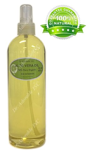 Aloe Vera Oil For Skin Hair And Health Comes With A Sprayer 16 Oz/1 Pint front-1000539