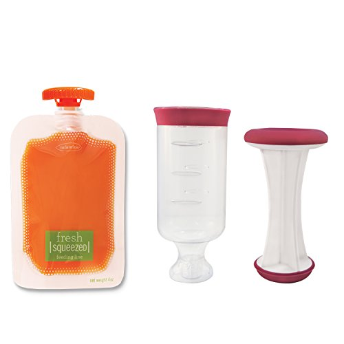 Infantino Fresh Squeezed Simple Squeeze Kit