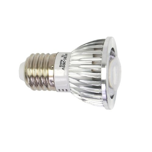 Eyourlife New 2Pc Ultra Bright E27 6W Led Spot Down Light Ceiling Lamp Bulbs Warm White