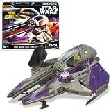Star Wars Saga Collection Mace Windu's Jedi Starfighter Vehicle