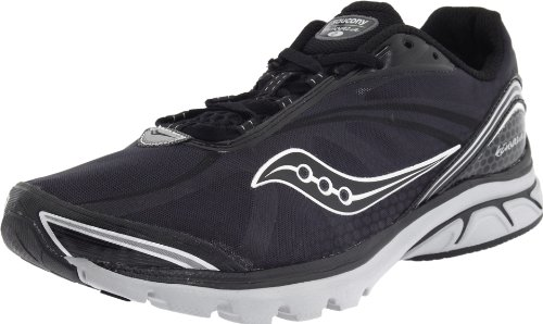 Saucony Men's Progrid Kinvara 2 Running Shoe,Black/Grey,9 M US