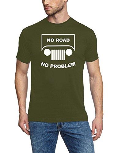 no-road-no-problem-suv-gelandewagen-offroad-t-shirt-oliv-weiss-gr2xl
