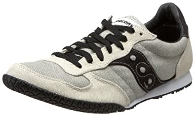 Saucony Originals Men's Bullet Vegan Sneaker,Gray/Black,7 M US