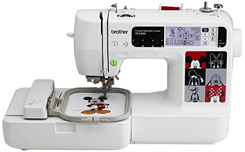 Read About Brother PE540D 4x4 Embroidery Machine with 70 Built-in Decorative Designs, 35 Disney Desi...