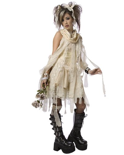 Gothic Mummy Child/Teen Costume (Girl - Child Teen 6-8)