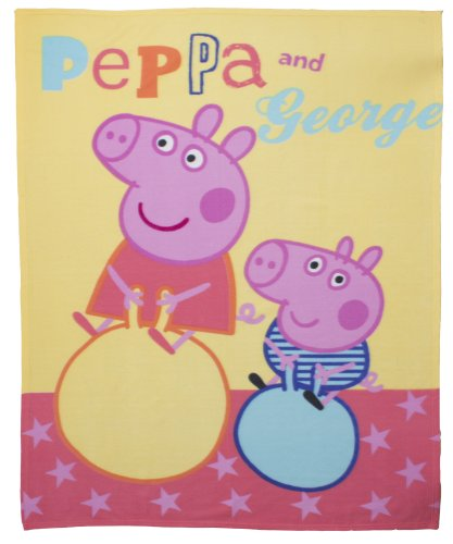 Cheap Peppa Pig Peppa Pig Funfair Fleece Blanket,