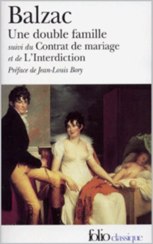 Honore de Balzac - une double famille illustré (French Edition)