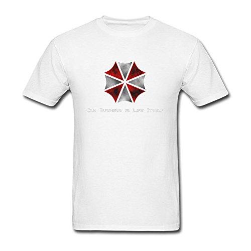 Arnoldo Blacksjd Resident Evil Umbrella Corporation Logo T Shirt For Men S X-Large