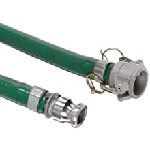 Unisource 1510 PVC Suction/Discharge Hose Assembly, Aluminum Cam And Groove Connection
