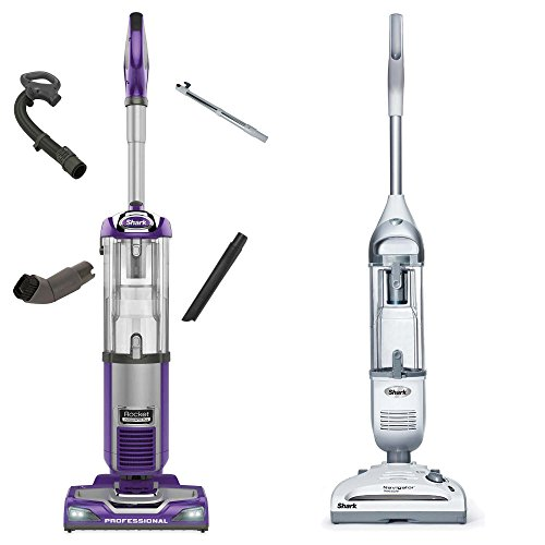 Certified Refurbished - Shark Rocket Vacuum + Navigator Cordless Vacuum (Refurbished) (Shark Vacuum Power Head compare prices)