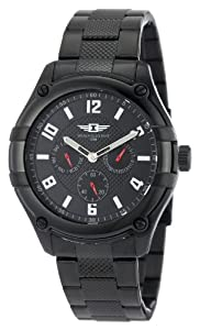 I By Invicta Men's 43659-004 Multi-Function Black Ion-Plated Stainless Steel Watch