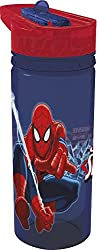 Disney Tritan Ultimater Spiderman Sipper Bottlel, Multi Color (600ml)