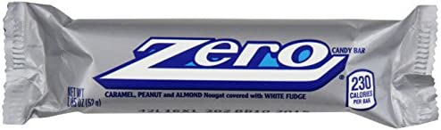 Zero Candy Bar 185-Ounce Packages Pack of 24