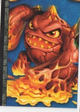 Skylanders Giants No. A4 PUZZLE - Puzzle Card Individuelle Trading Card
