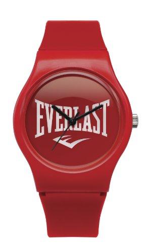 Bernex EV-700-102 - Reloj analógico unisex de plástico rojo