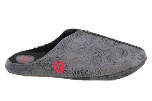 Bedroom Athletics, Pantofole uomo 0 UK, Grigio (grigio), Medium