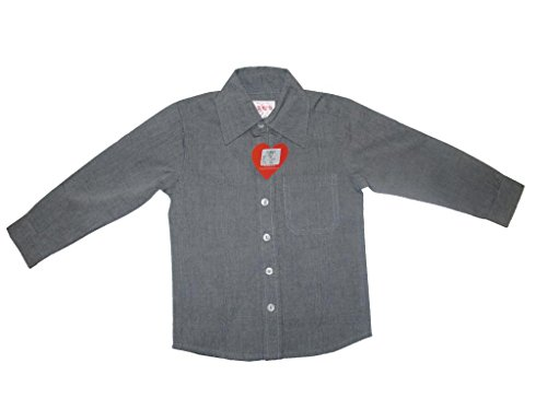 Little Aiva Little Heart Boys'shirt (Red)